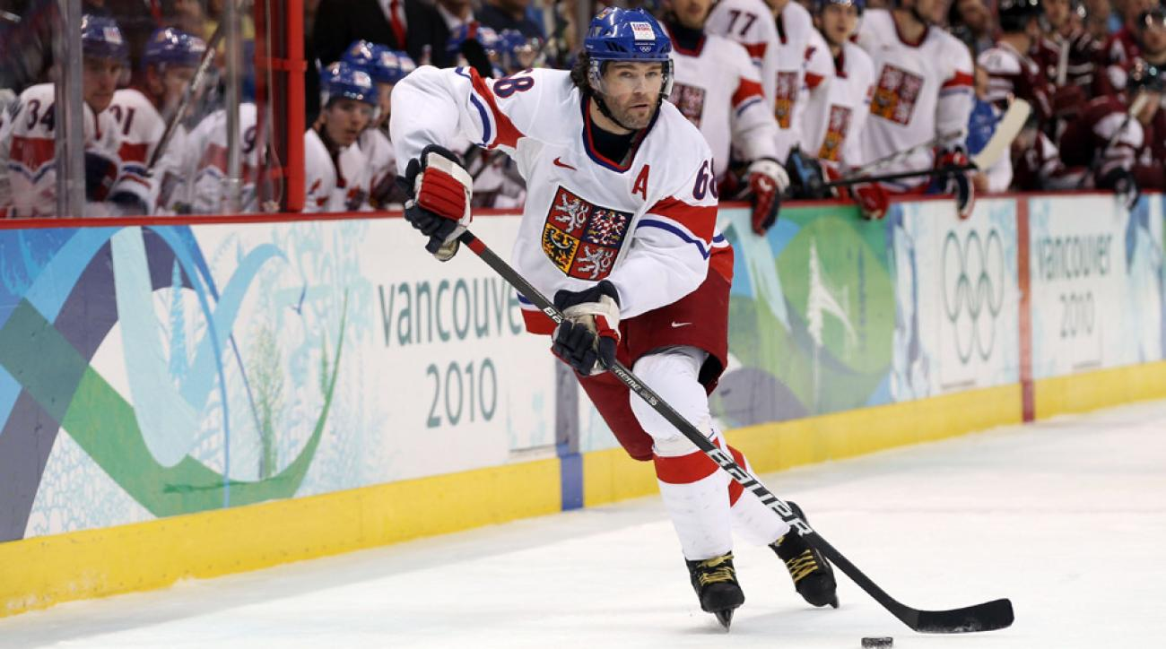 At 41 years old, Jaromir Jagr headlines a talented crop of forwards on the Czech Republic men's hockey entry in Sochi.
