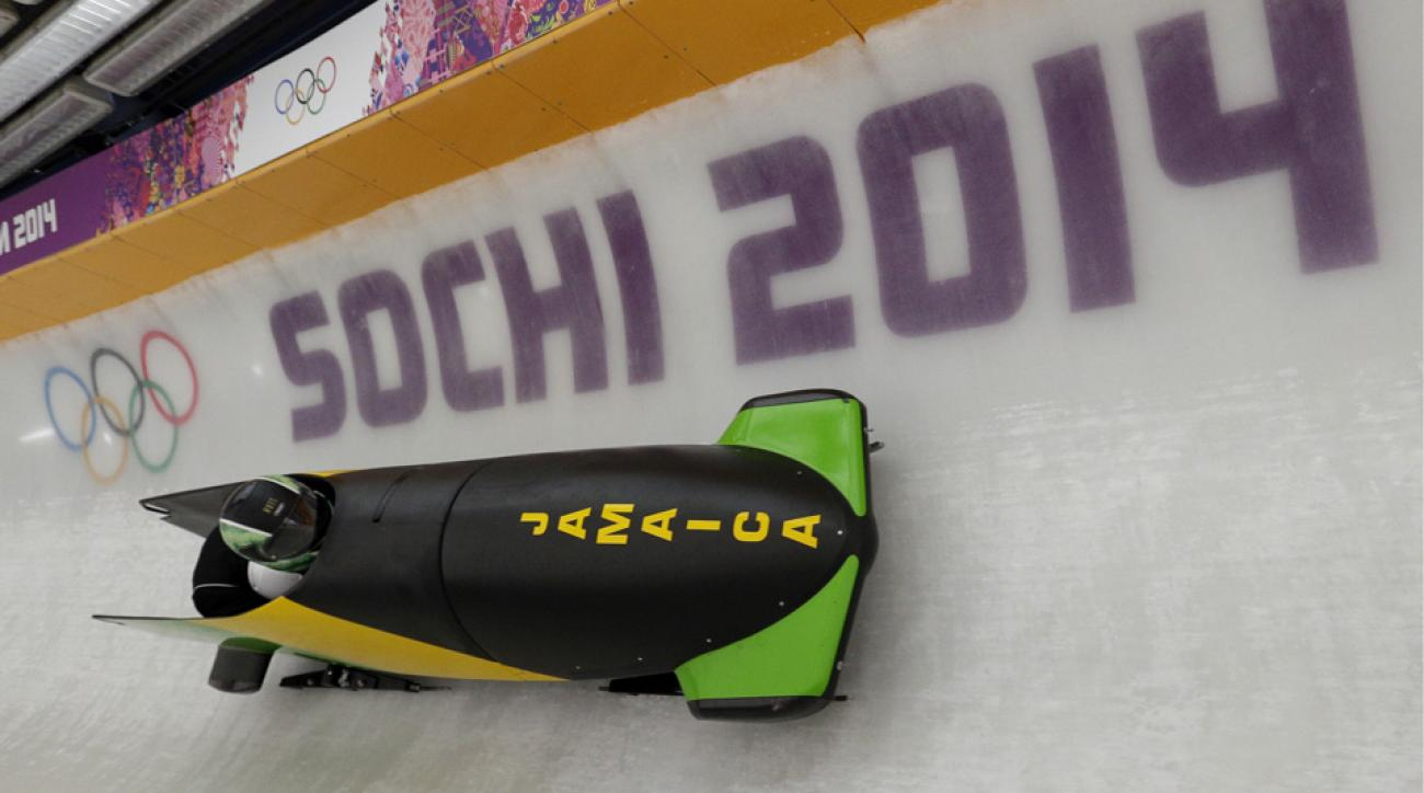 The Jamaican team couldn't train Wednesday because their luggage hadn't arrived yet.