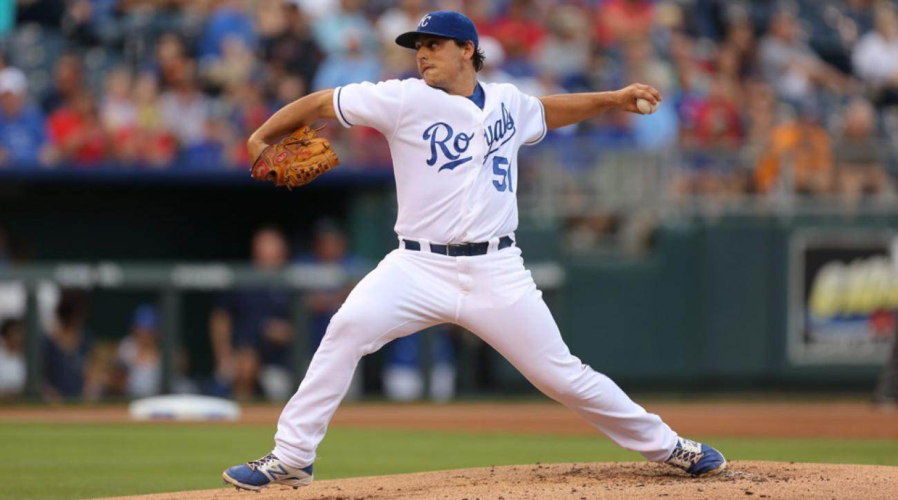 LHP Jason Vargas will be on a 15-day DL after undergoing an appendectomy