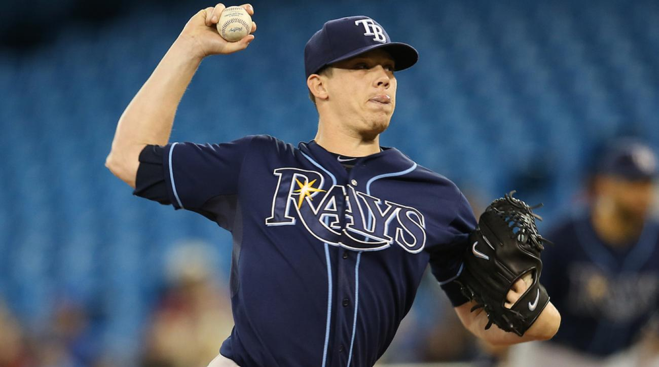 Sidelined all season after elbow surgery, Jeremy Hellickson went 12-10 with a 5.17 ERA and seven strikeouts per nine over 31 starts and 174 innings in 2013.