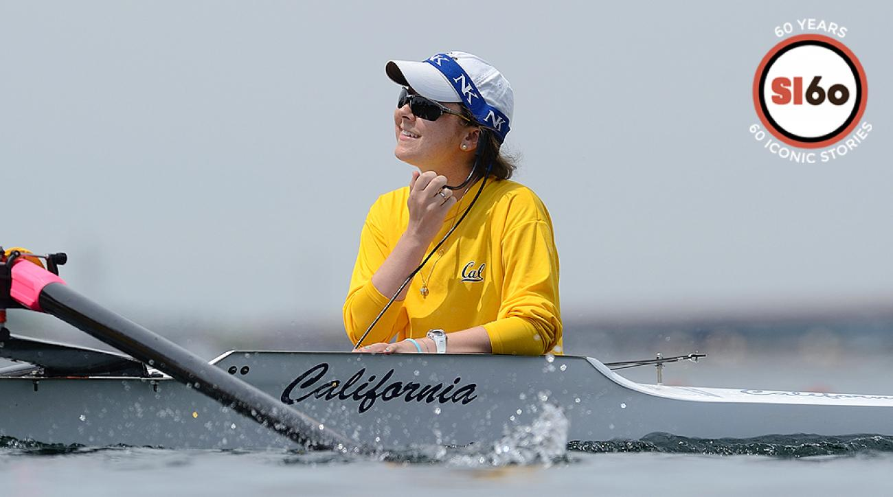 Cal coxswain Jill Costello learned she had stage four cancer before the start of her senior season.