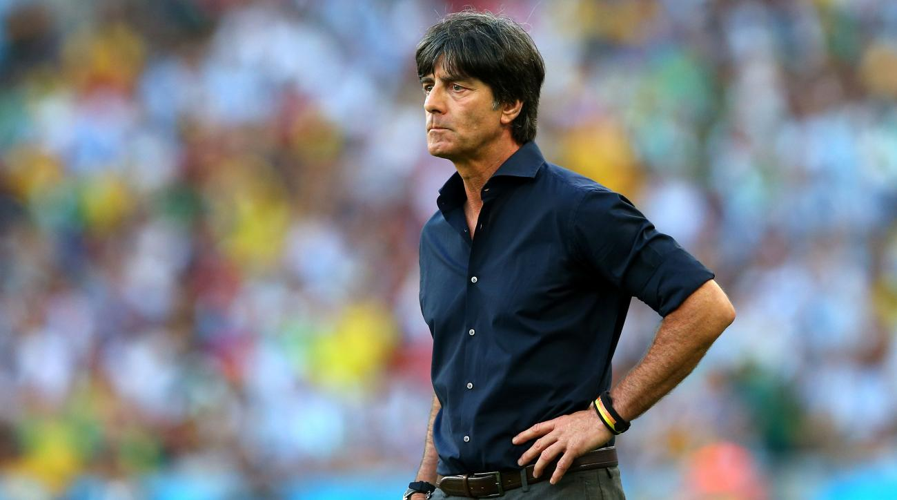 Coach Joachim Loew signs extension with Germany