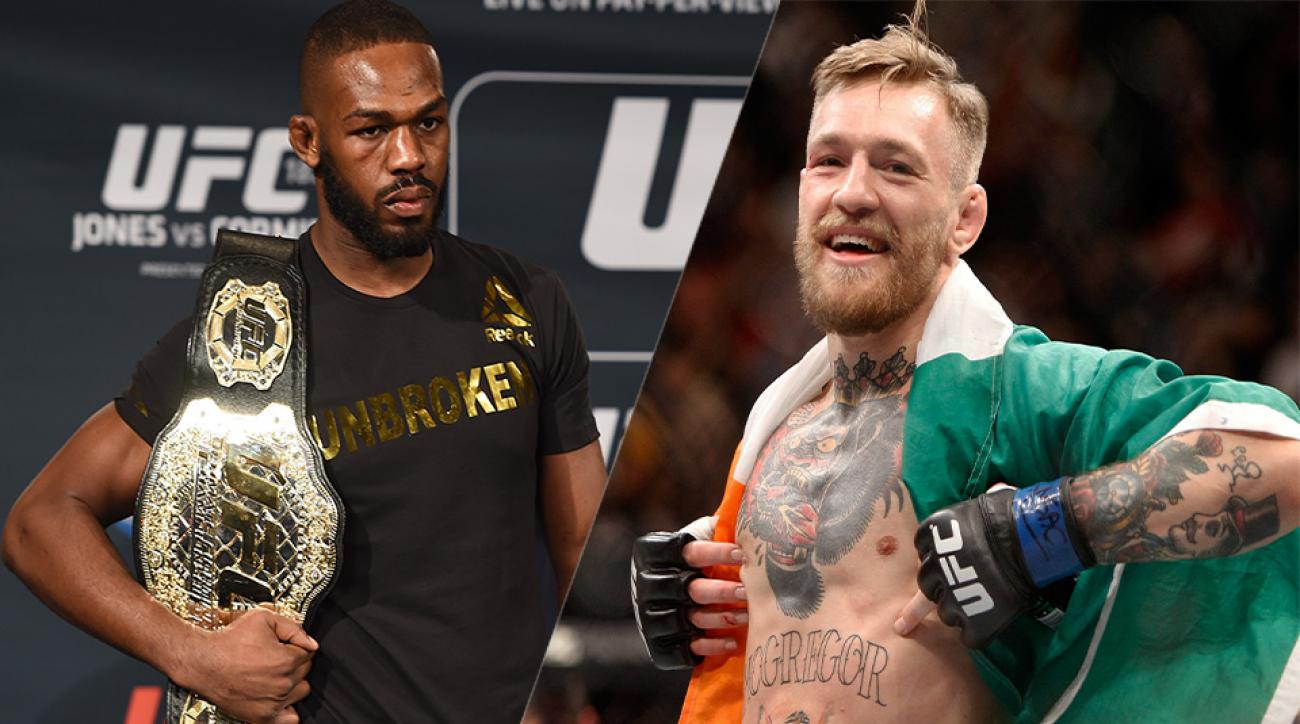 Jon Jones and Conor McGregor