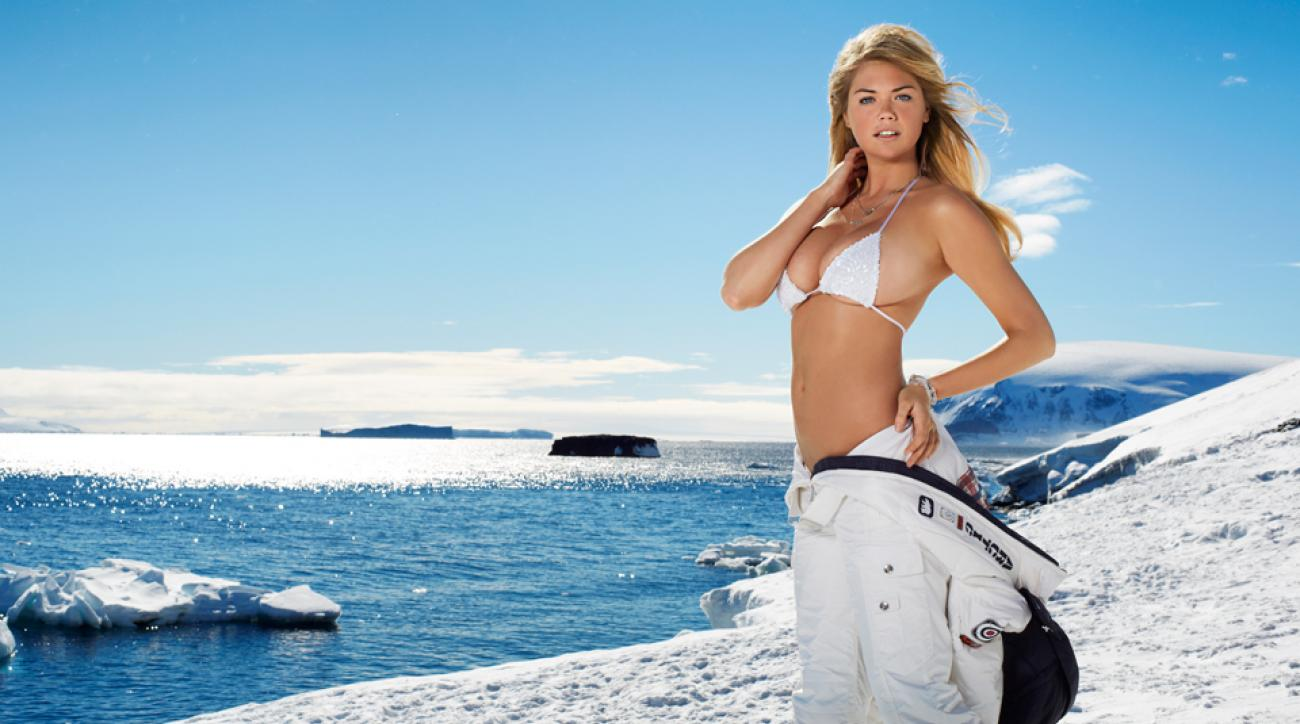 Happy Monday! Here's video from Kate Upton in Antarctica to kick off the week