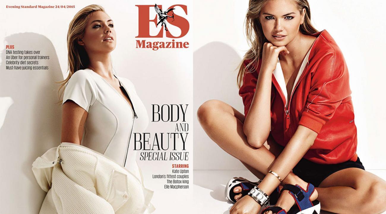 Kate Upton for the London Evening Standard Magazine, April 2015