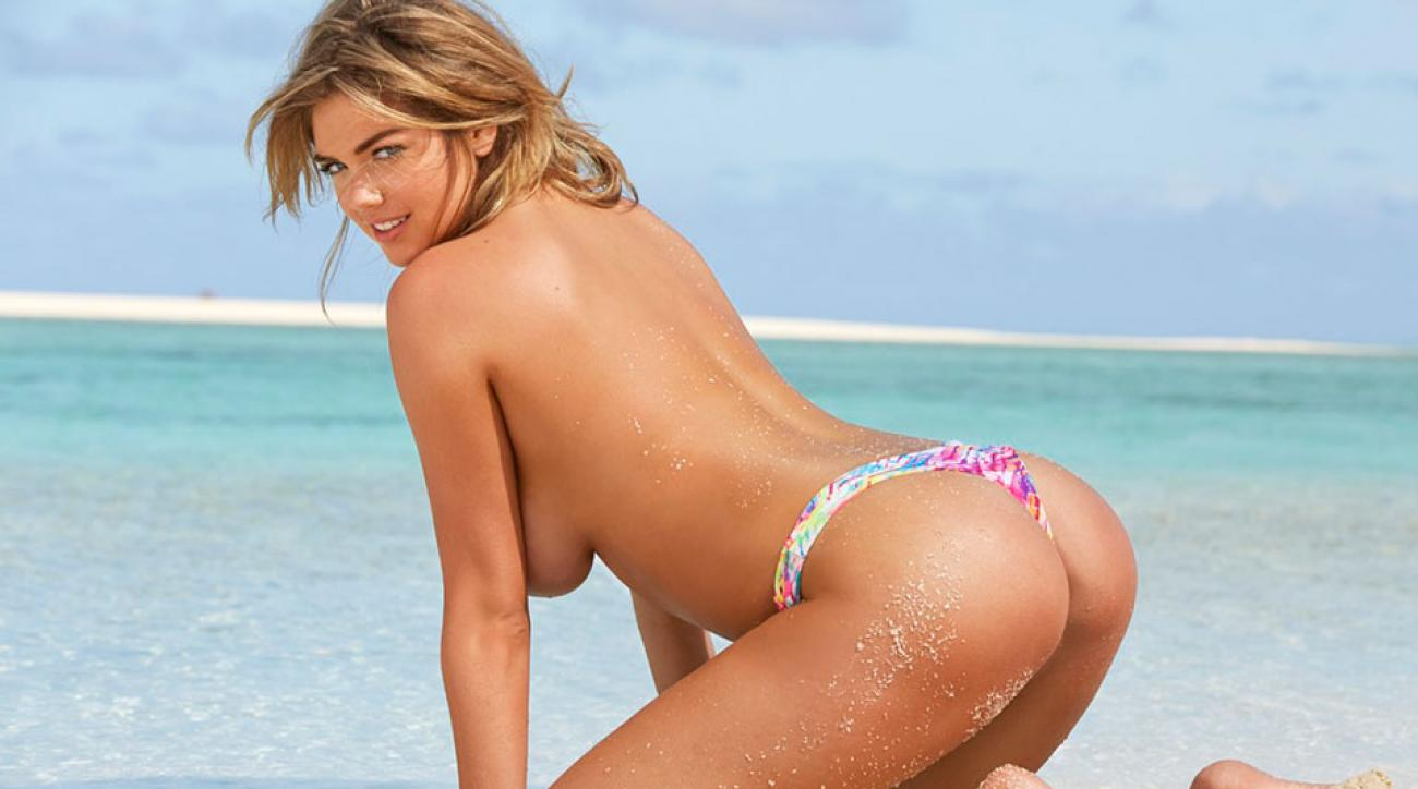 'Death by thong is a real on the job hazard' on the set of SI Swimsuit