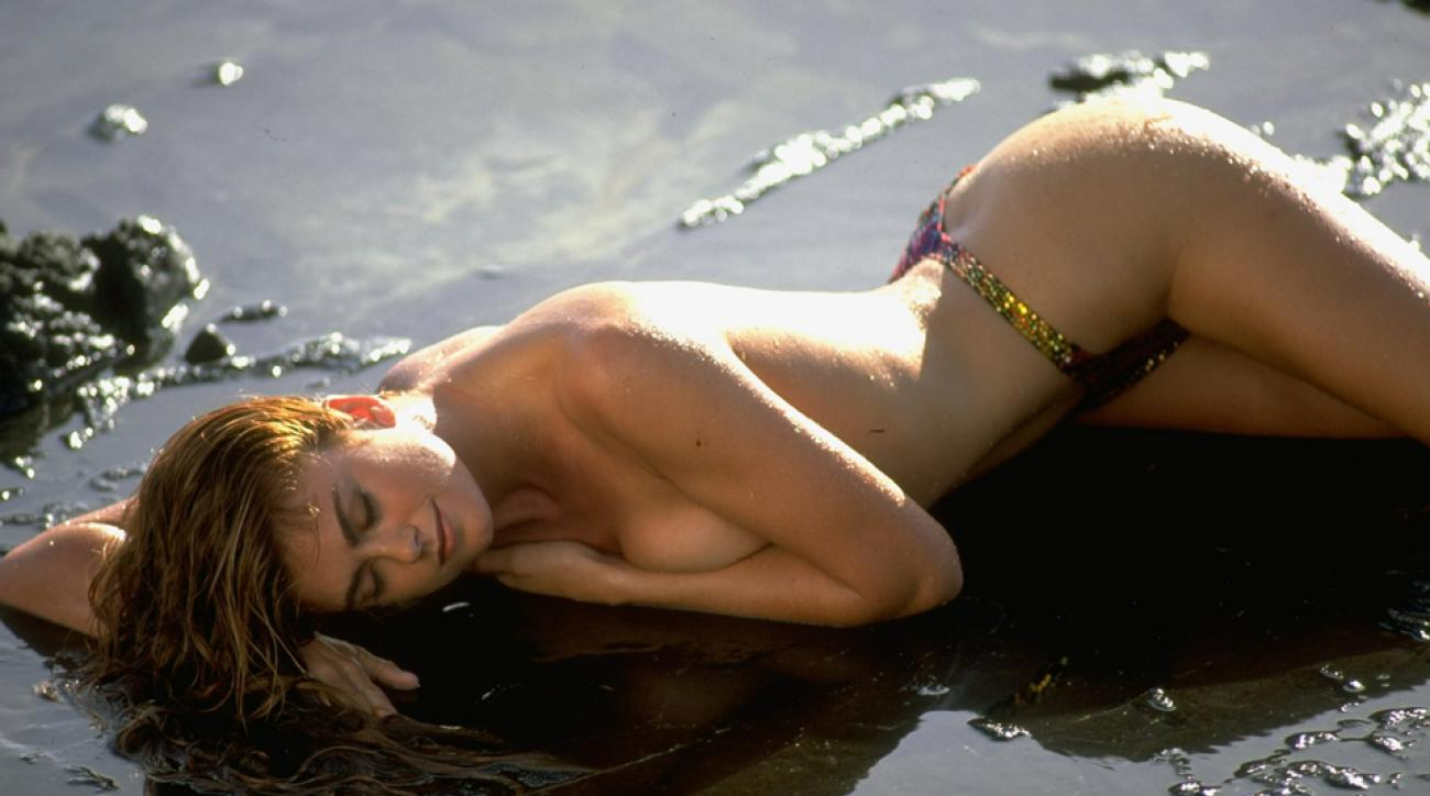 Kathy Ireland in Oahu, SI Swimsuit 1993