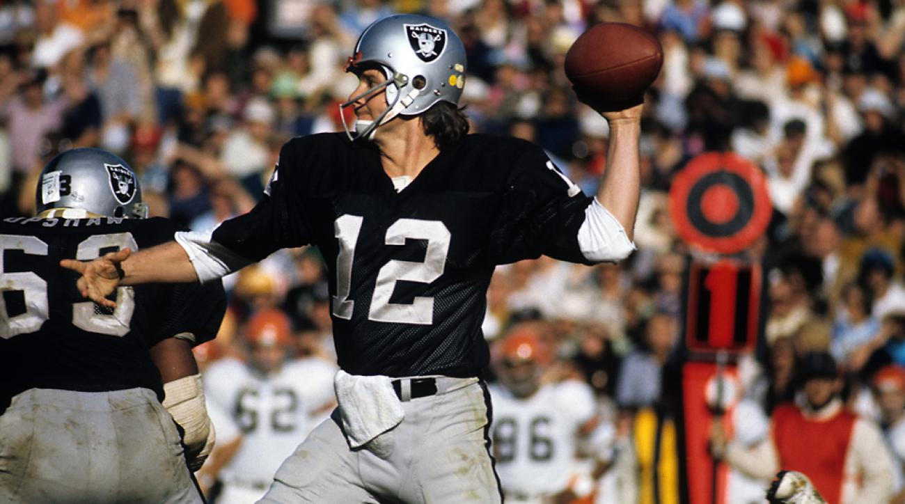 huge discount 758bf 2c0cd SI Vault: Oakland Raiders QB Kenny Stabler in Alabama | SI.com