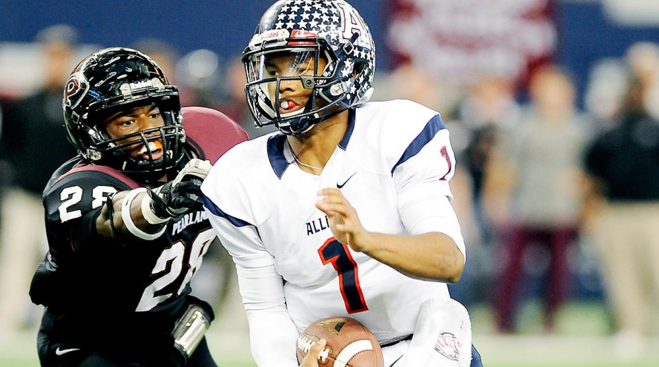 Texas AampM Aggies Commit Kyler Murphy Aims To Stay Perfect