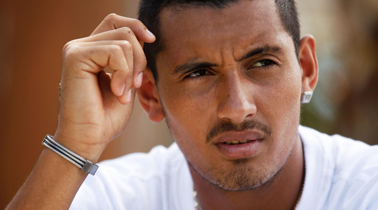 If you were to write a New Year's resolution for Nick Kyrgios, what would it be?