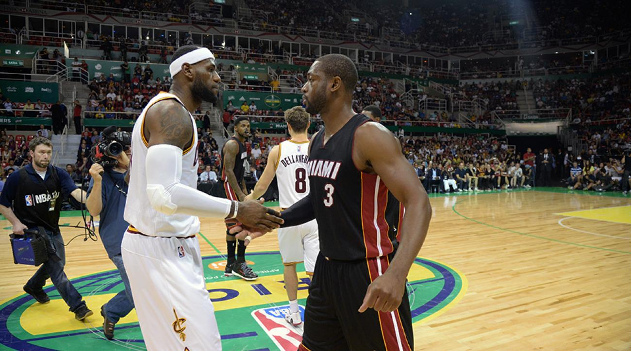 On Christmas Day, Cavaliers forward LeBron James will return to Miami for the first time since he left the Heat in free agency.