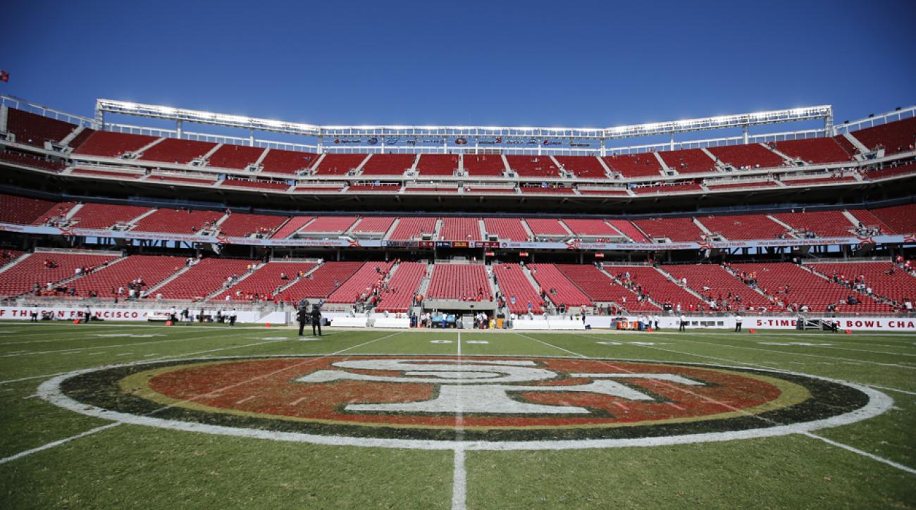Levi's Stadium during the inaugural San Francisco 49ers 2014 NFL preseason game against the Denver Broncos in Santa Clara, Calif.