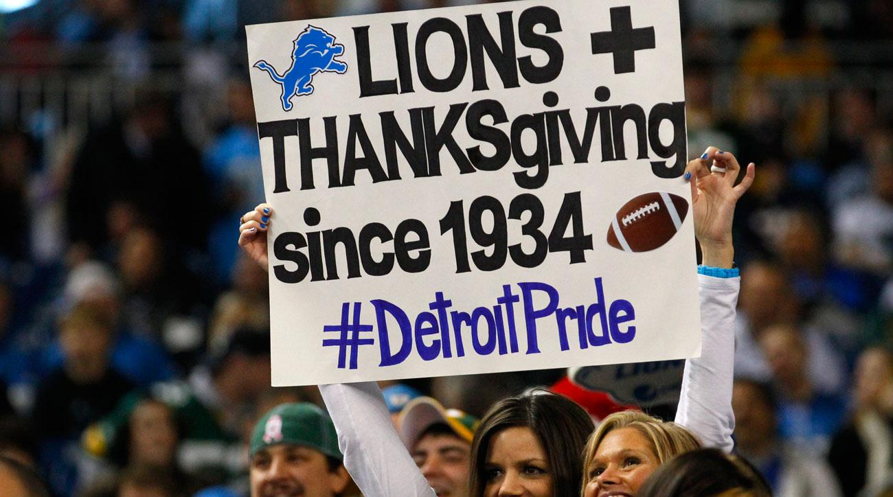 Win or lose, Detroit prides itself on being the home of Thanksgiving football.