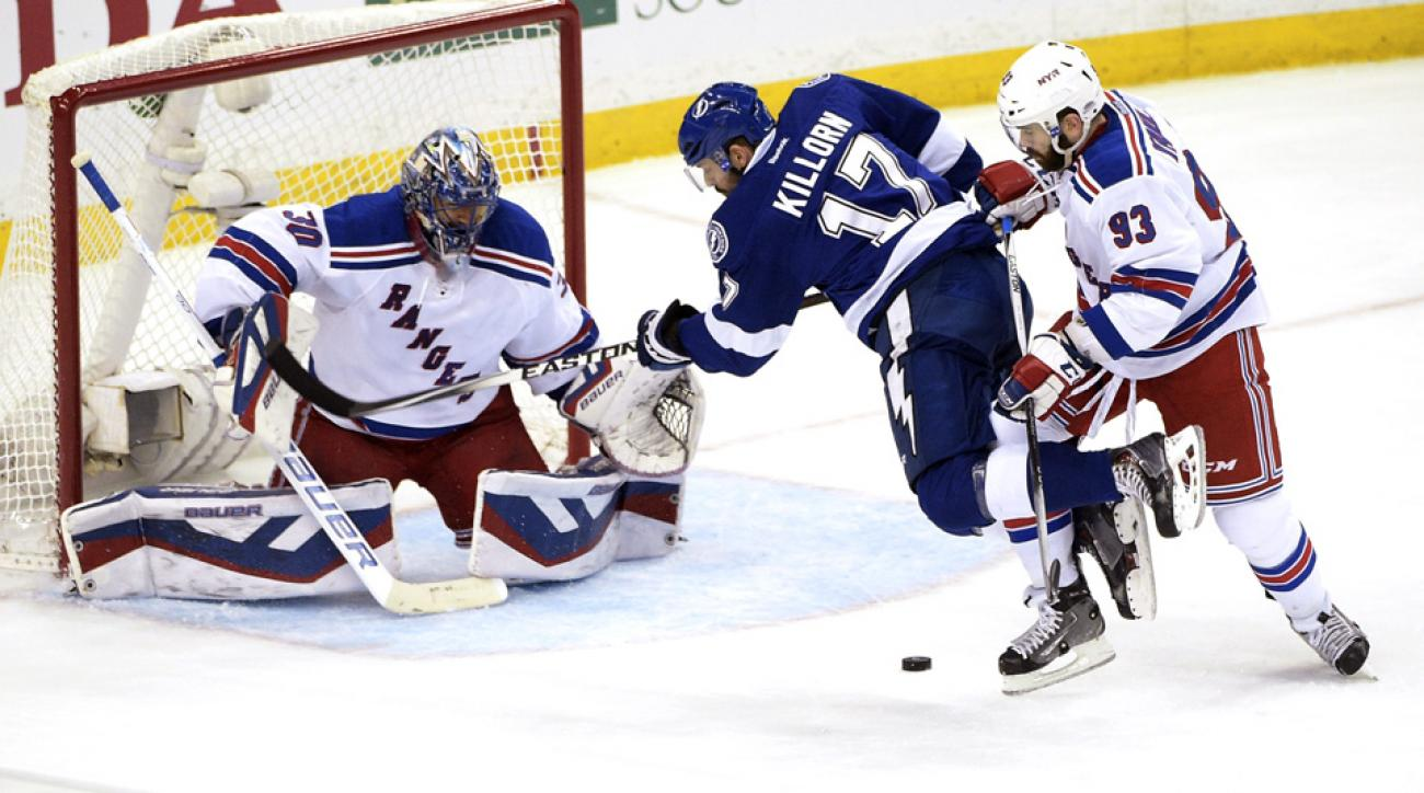 Nhl Playoffs Lundqvist Brassard Lead Rangers To Game 6 Win Si Com