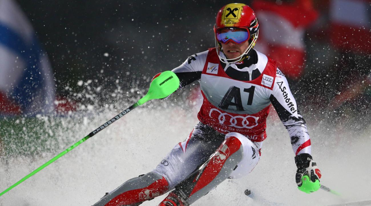 Marcel Hirscher won two gold medals and a silver at last year's world championship.