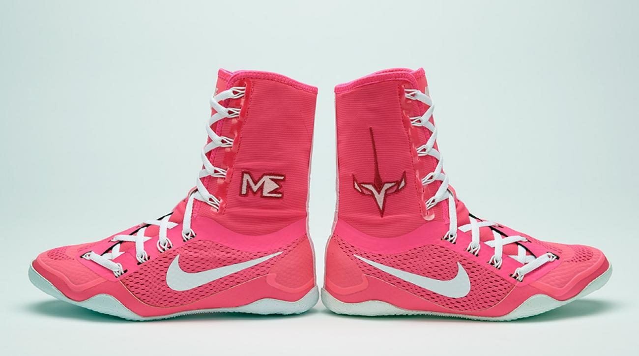 Boot design by nike - Nike Knocks Out A New Custom Boxing Boot For Olympian Marlen Esparza