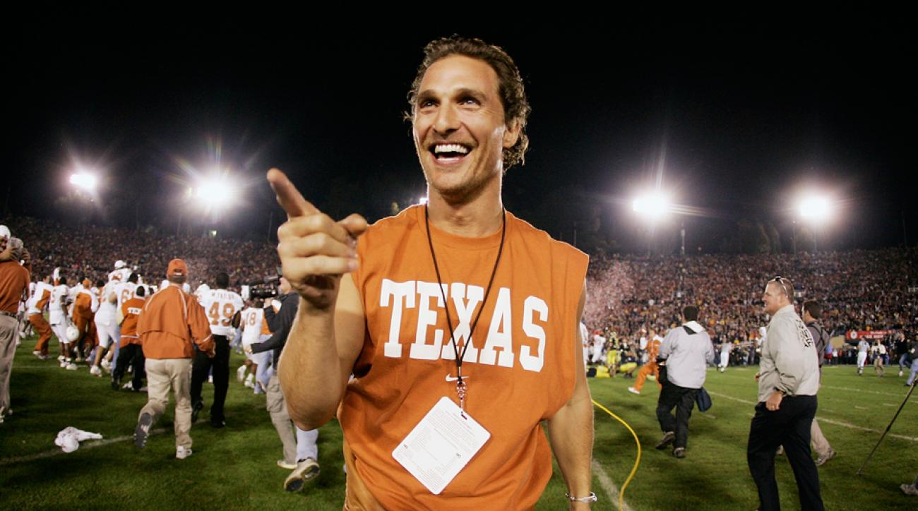 McConaughey, a lifelong fan of the Texas Longhorns, talks about how his performance clothing line came to be and where his motto Just Keep Livin started.