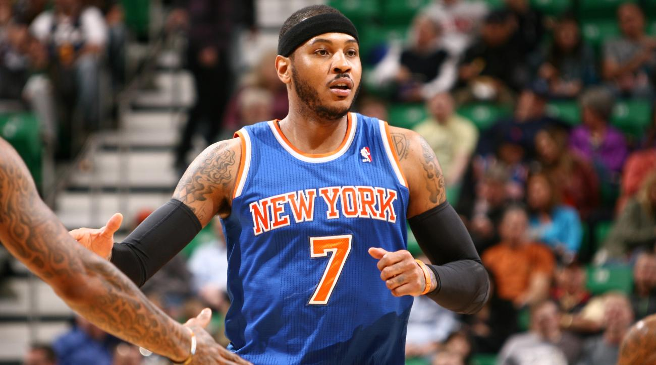 f09f99b59cf6 Report  Derrick Rose not involved in Bulls  pitch to Carmelo Anthony