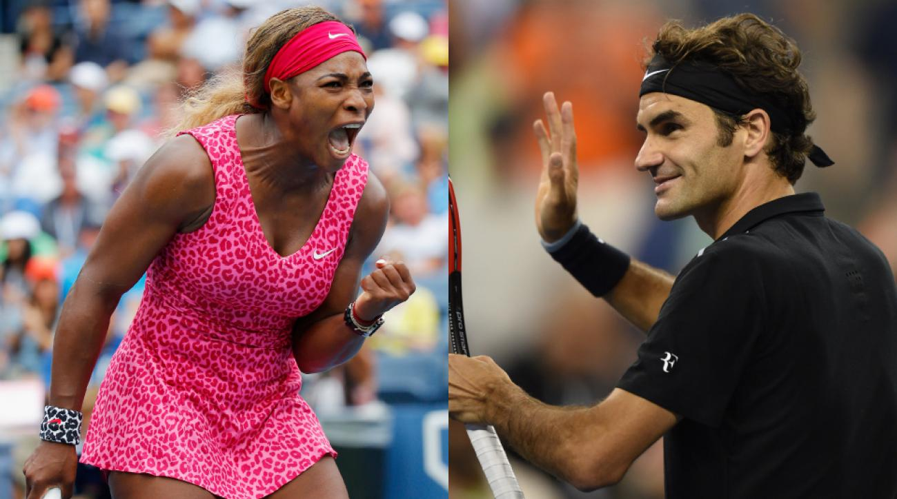 Serena Williams and Roger Federer are both going strong mid-way through the U.S. Open.