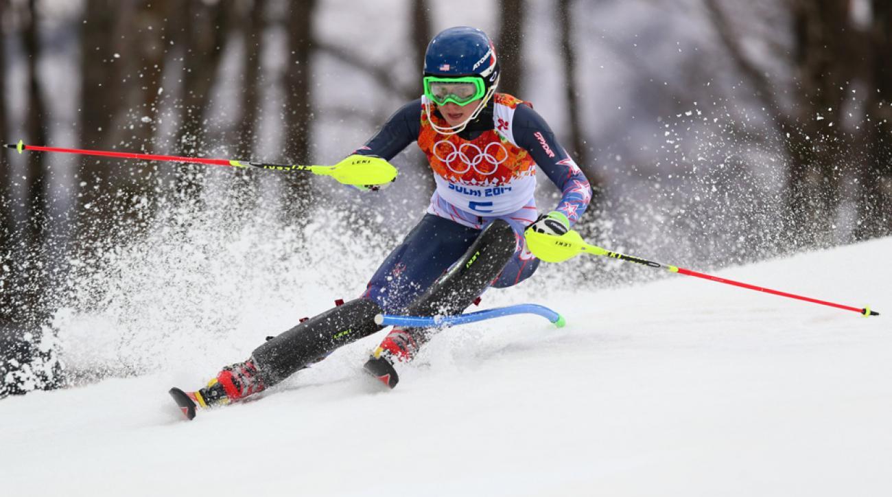 Mikaela Shiffrin is the first U.S. women's slalom medalist since Barbara Cochran in 1972.