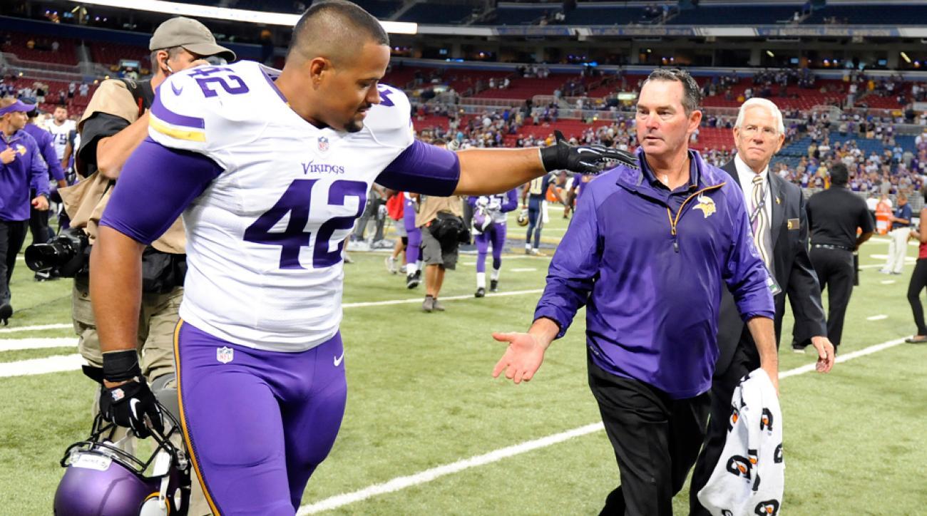 NFL Week 1 scores: Vikings coach Mike Zimmer, Texans coach Bill O'Brien win debuts