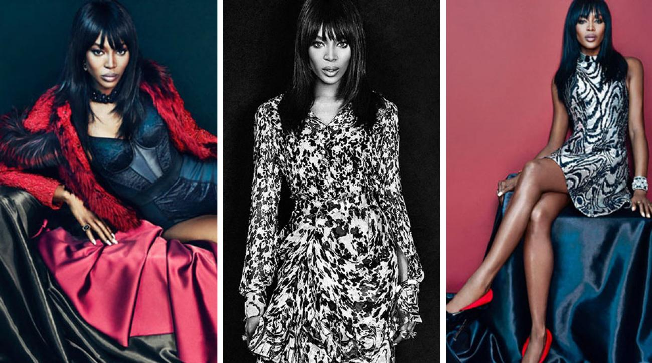 Naomi Campbell for L'Officiel Ukraine January 2015