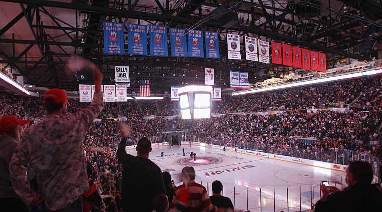 New York Islanders final season tribute logo is terrible   SI.com