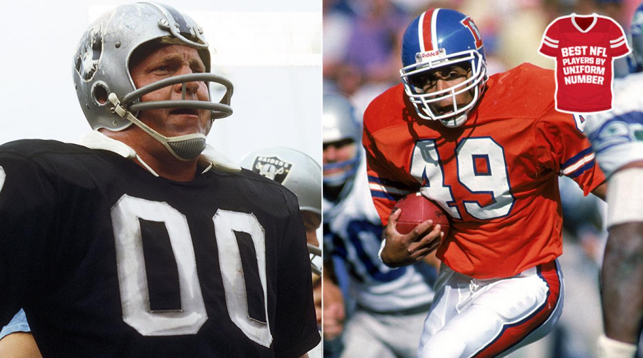 b50febddf The NFL s best players by uniform number  00–49