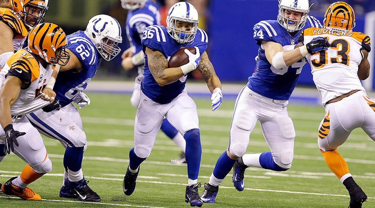 Andrew Luck, Boom Herron carry Indianapolis Colts over Cincinnati Bengals