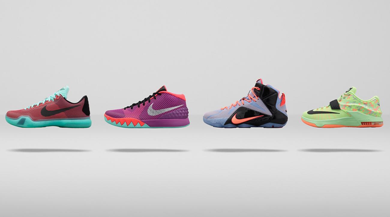 Nike wear test gives hardwood answers for LeBron 12, Kyrie 1, Kobe X, more    SI.com