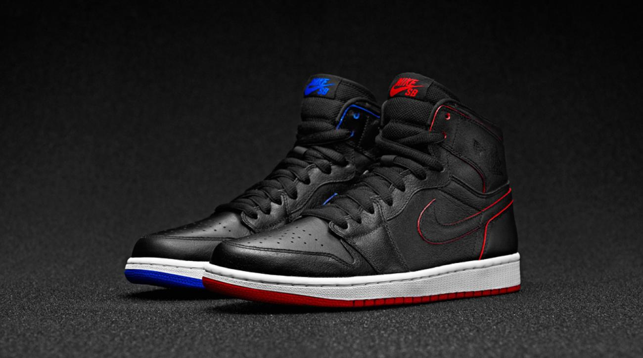 The revolutionary Nike SB x Air Jordan I, designed by skateboarder Lance Mountain, changes colors as you wear them.