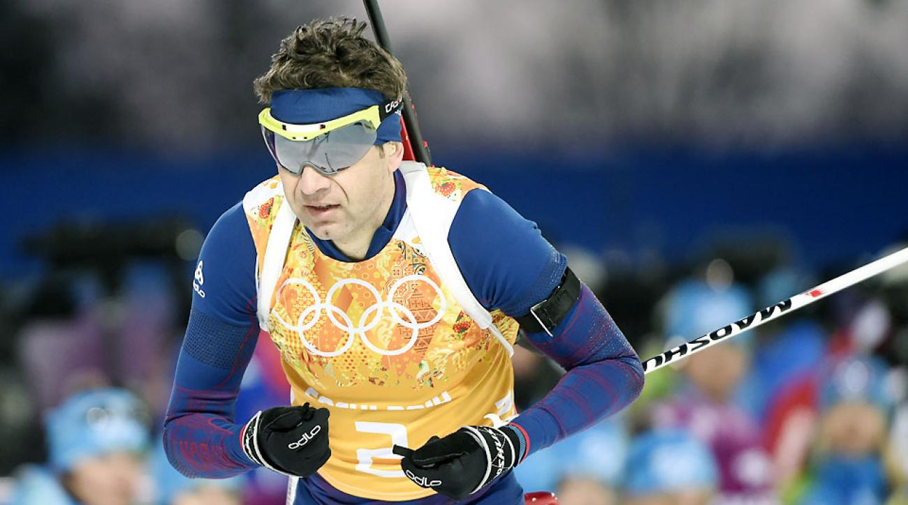 Norway's Ole Einar Bjoerndalen won his record 13th Winter Olympic medal Wednesday. He can set a record for gold medals Saturday.