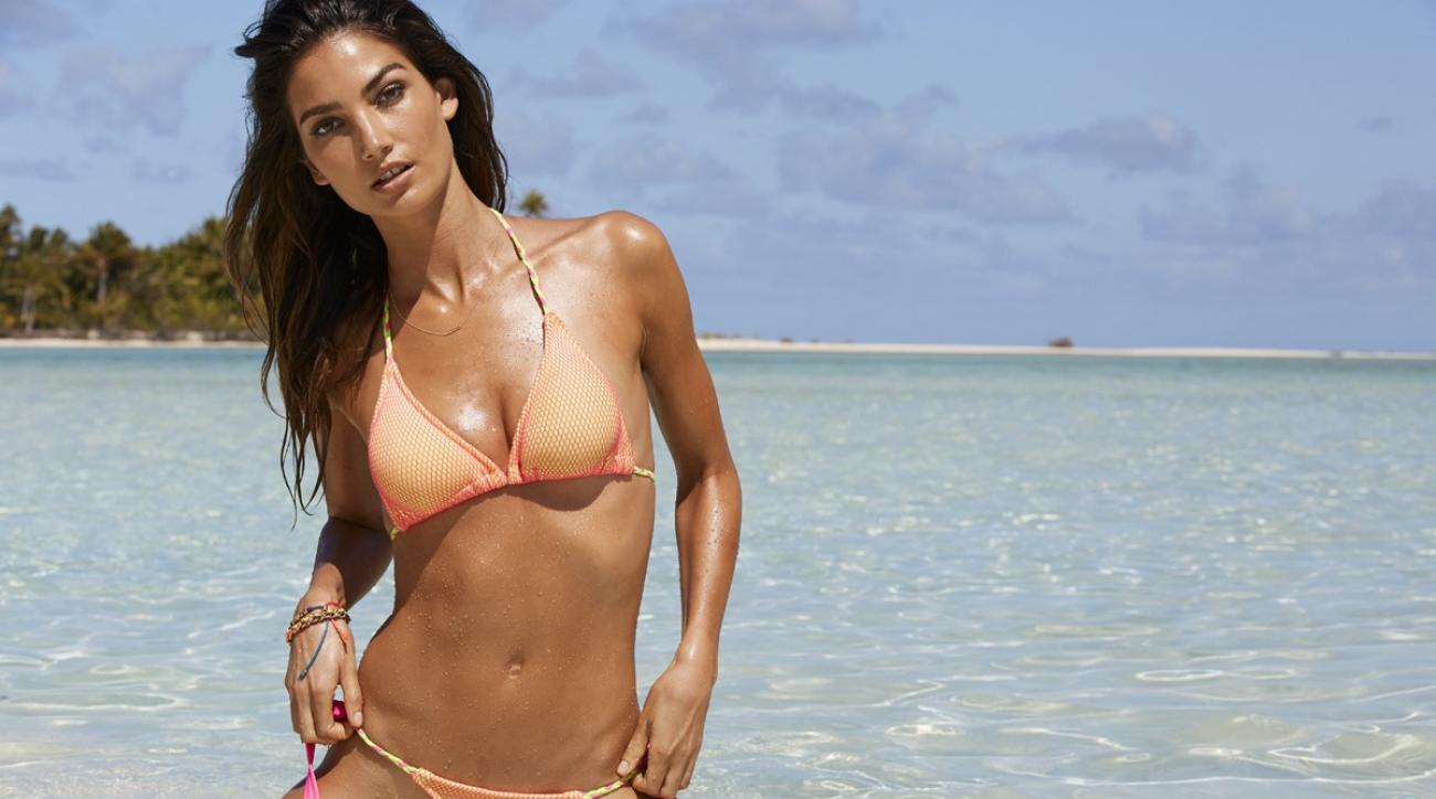 Lily Aldridge shares her secrets and favorite SI Swimsuit cover