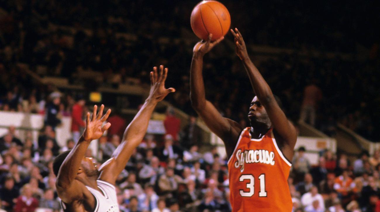 Pearl Washington was one of several stars who made the Syracuse-Georgetown rivalry one of the nation's best during the 1980s.