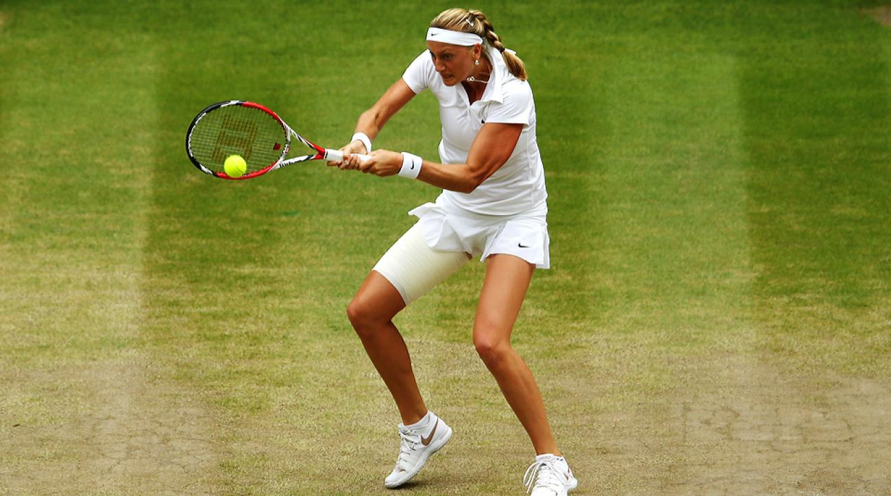 Petra Kvitova completely shut down Eugenie Bouchard in the Wimbledon women's final, winning 6-3, 6-0.