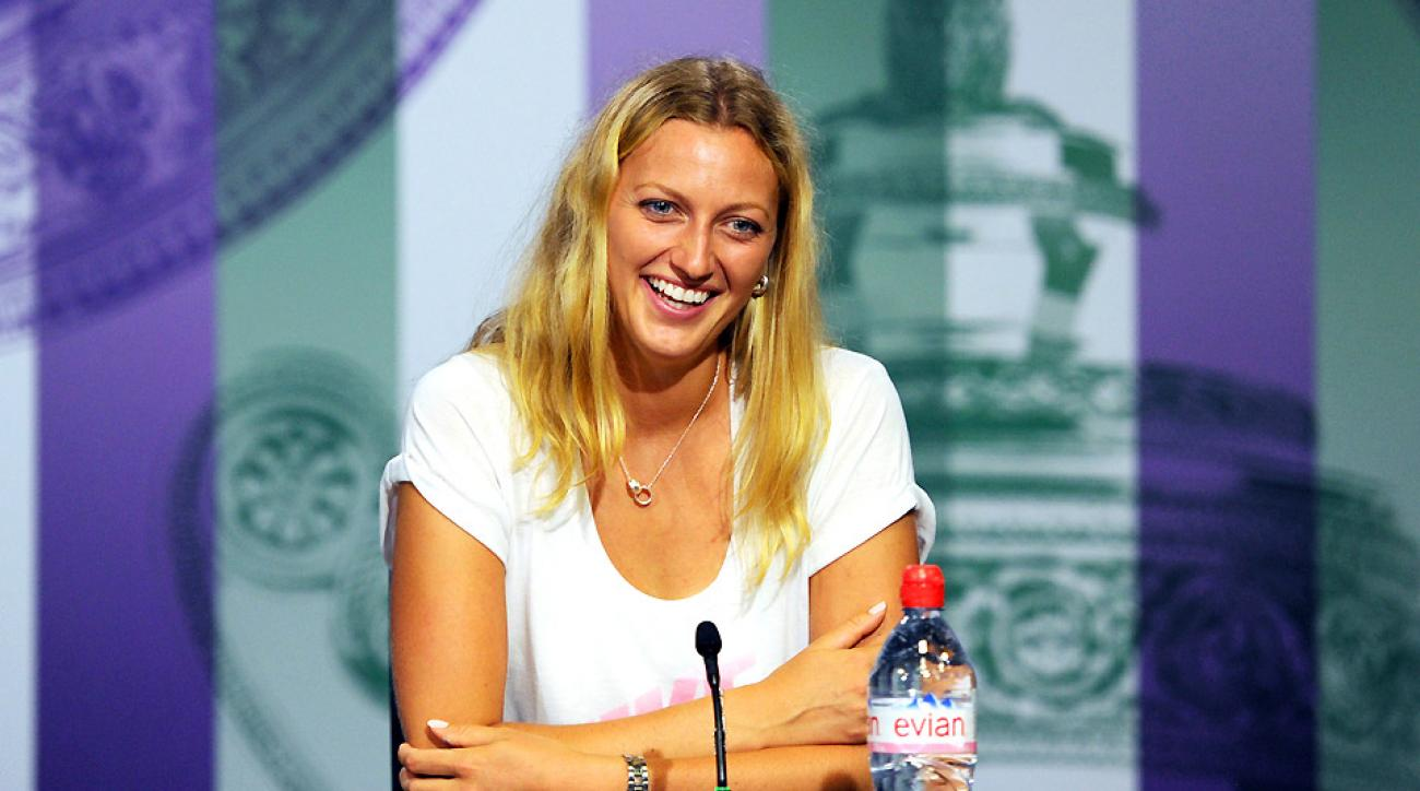 Petra Kvitova won her second Wimbledon title with a 6-3, 6-0 victory over Eugenie Bouchard in the final.