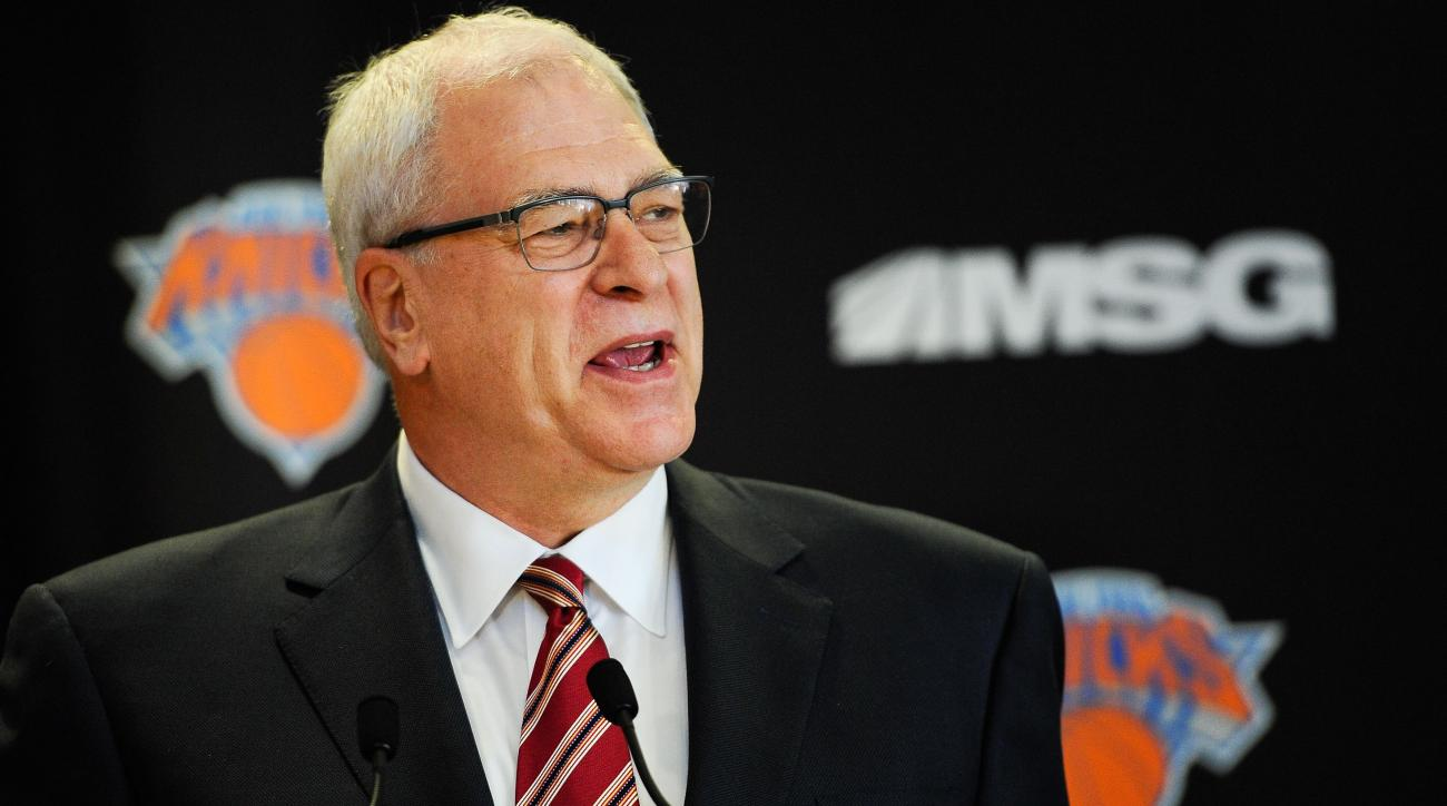 Phil Jackson wants New York Knicks to spend wisely