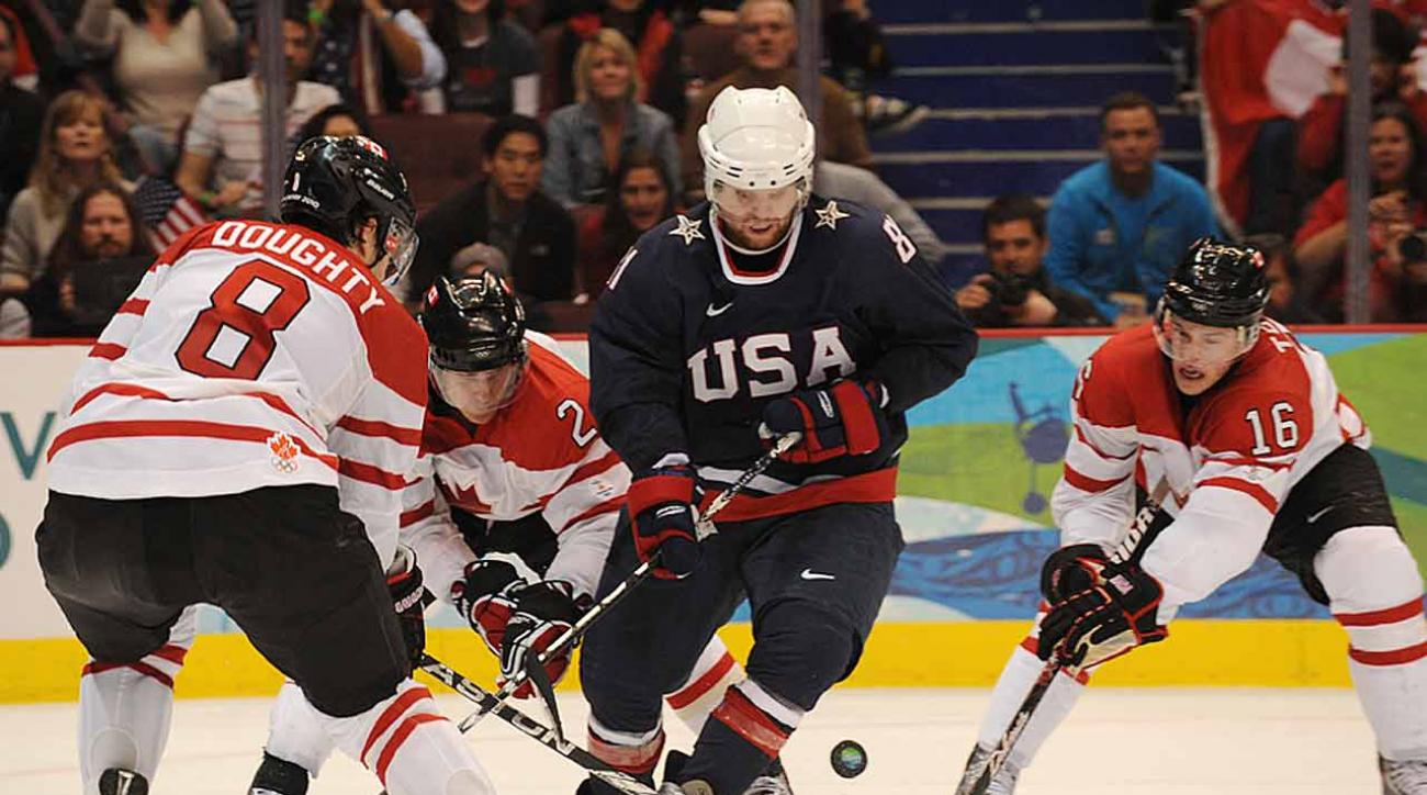 The question for Phil Kessel and Team USA is if they can succeed on a bigger rink.