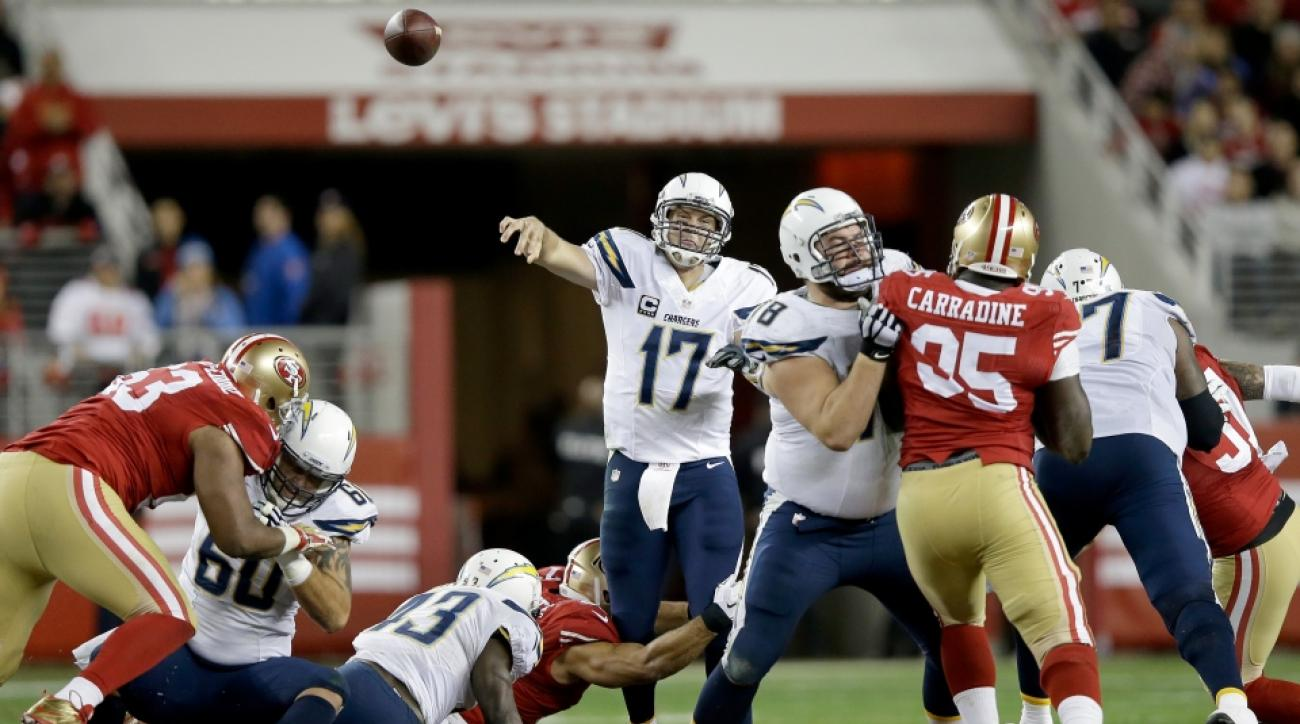 Chargers mount masterful comeback over 49ers to keep playoff hopes alive