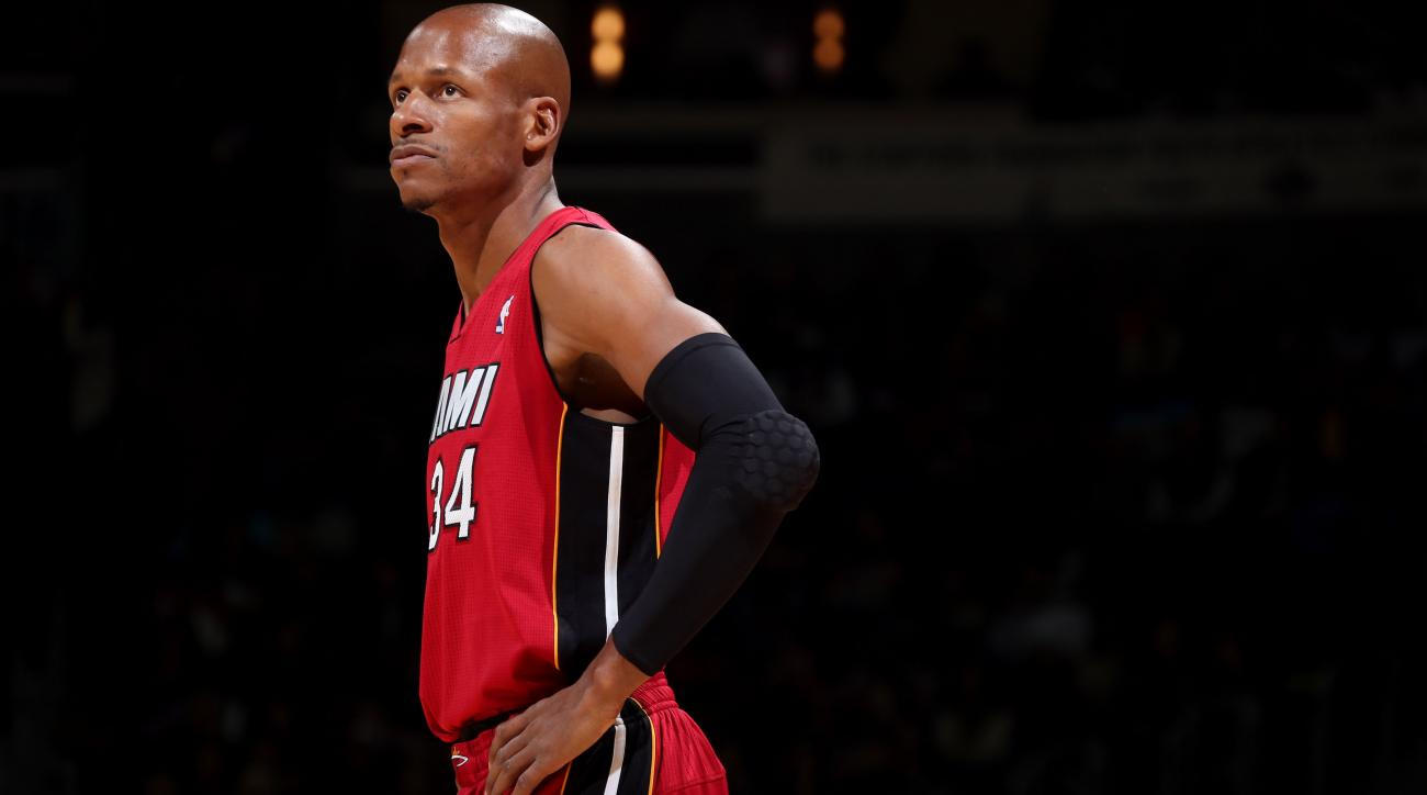 Free agent Ray Allen weighing future options