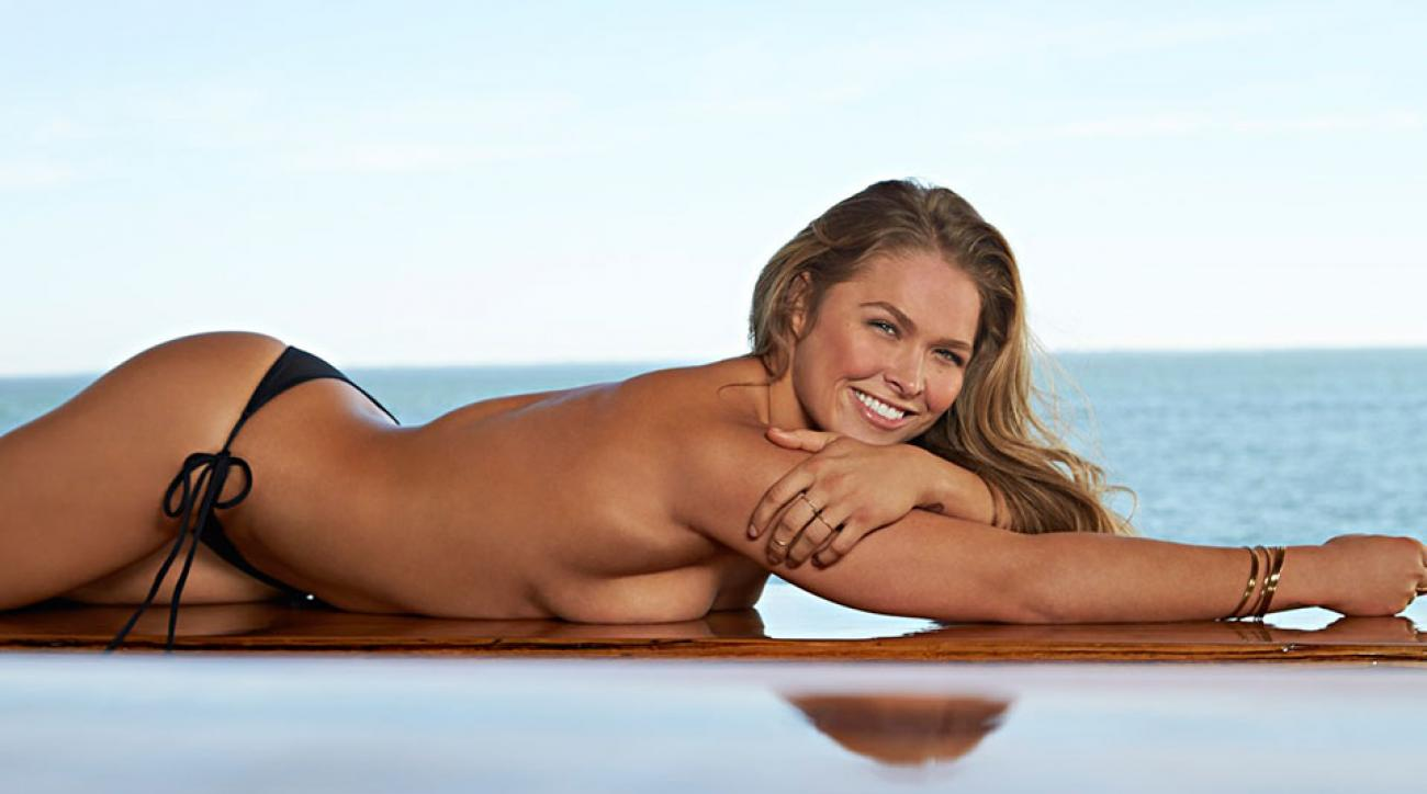 UFC champ Ronda Rousey, SI Swimsuit 2015