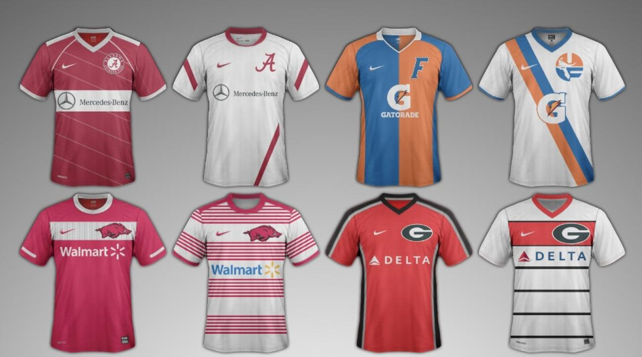 personalized sec football jerseys