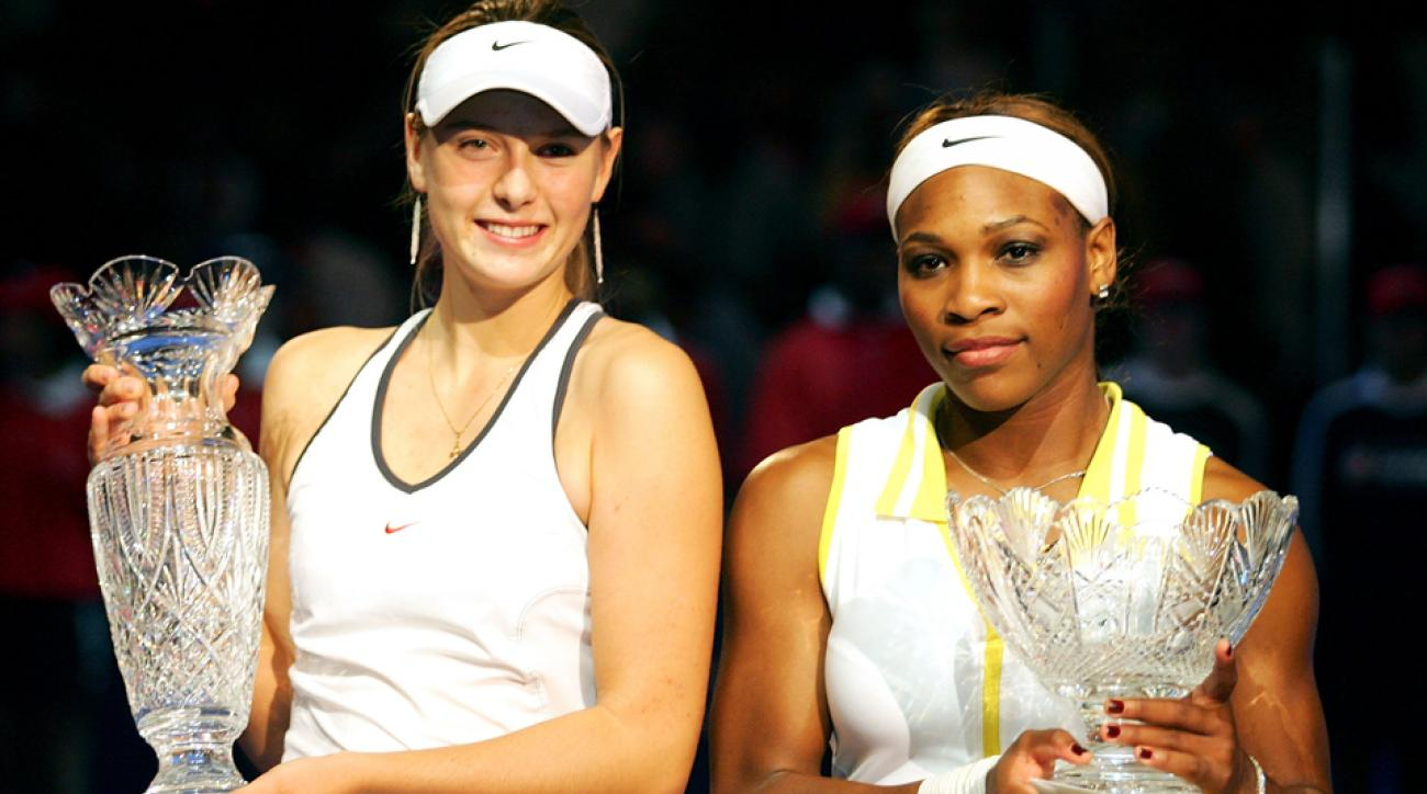 #TBT: Maria Sharapova beats Serena Williams at the 2004 ...