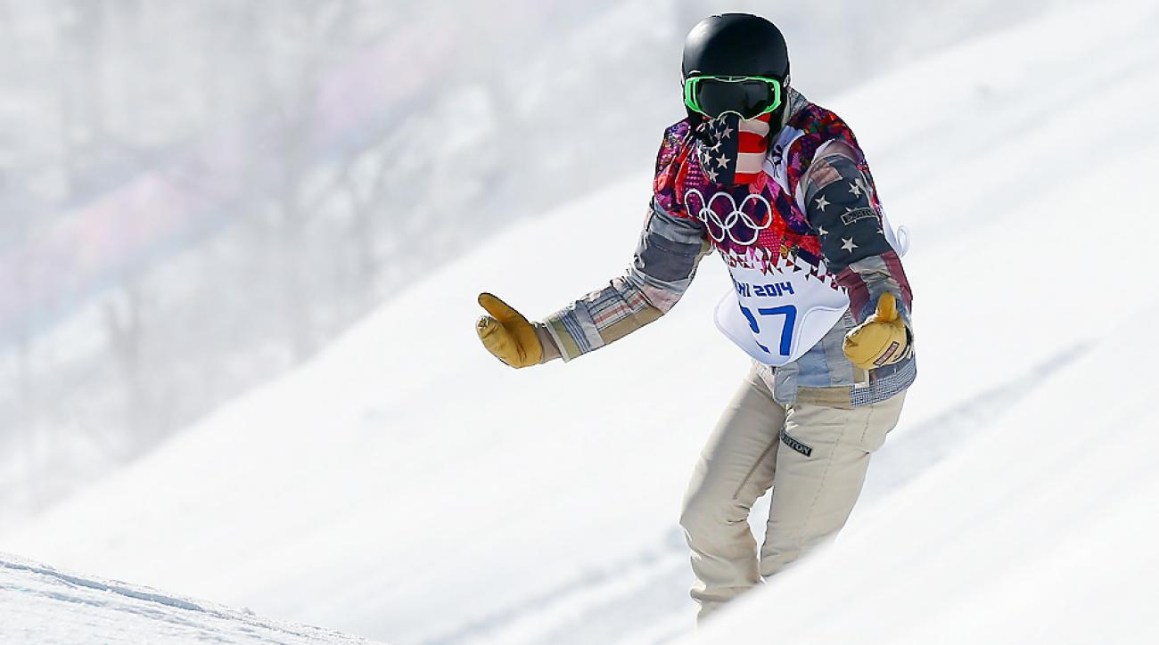 """Shaun White called the Sochi Olympic slopestyle course """"intimidating"""" after a training run Tuesday. Several athletes have injured themselves in training."""