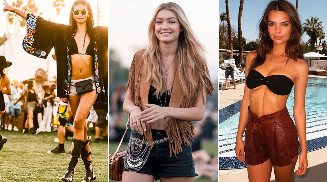 SI Swimsuit models dress to impress at Coachella 2015