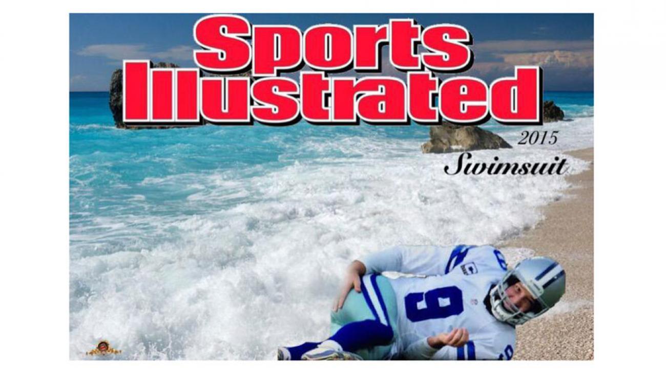 Tony Romo SI Swimsuit Cover Meme