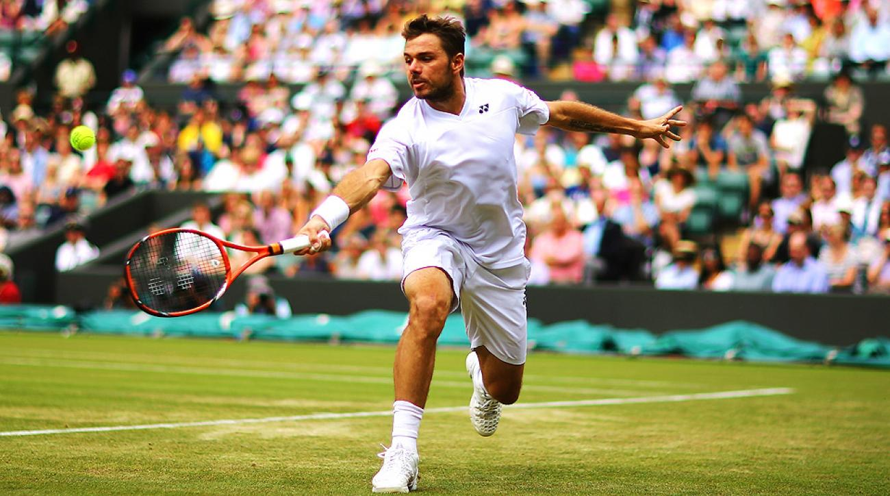Stanislas Wawrinka will have to win three best-of-five matches in three days in order to make the semifinals at Wimbledon.