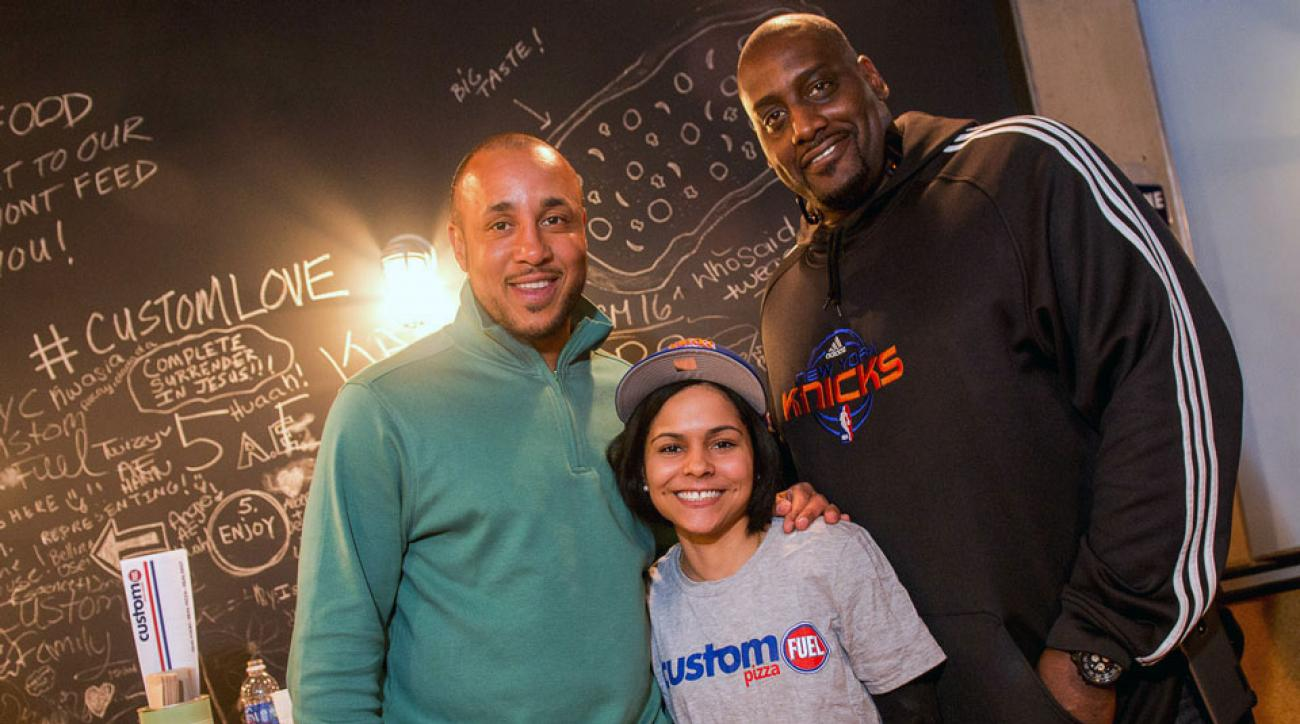 John Starks and Anthony Mason talk about their latest venture, the way they used to eat in the NBA and how Pat Riley was the key to their healthy lifestyles.