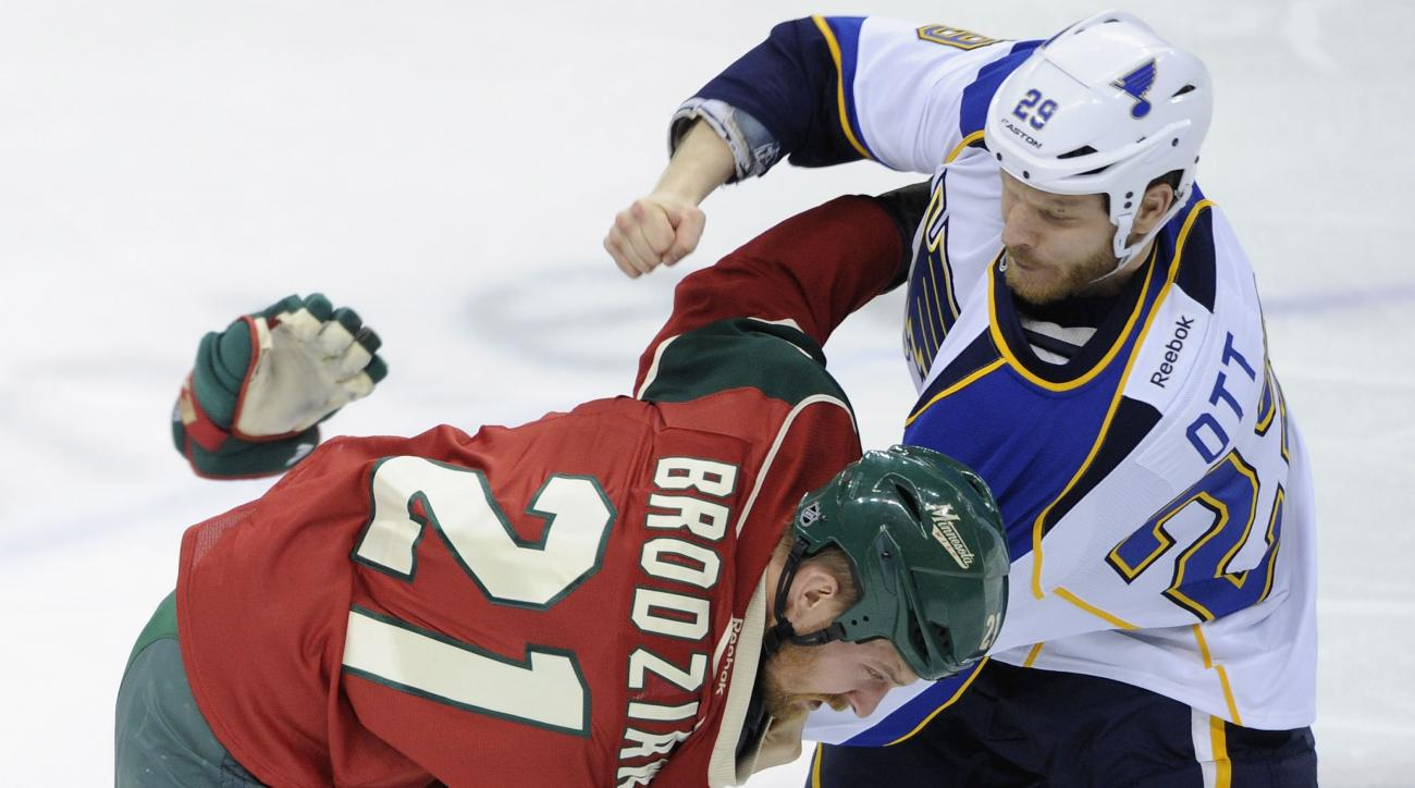 St. Louis Blues re-sign Steve Ott