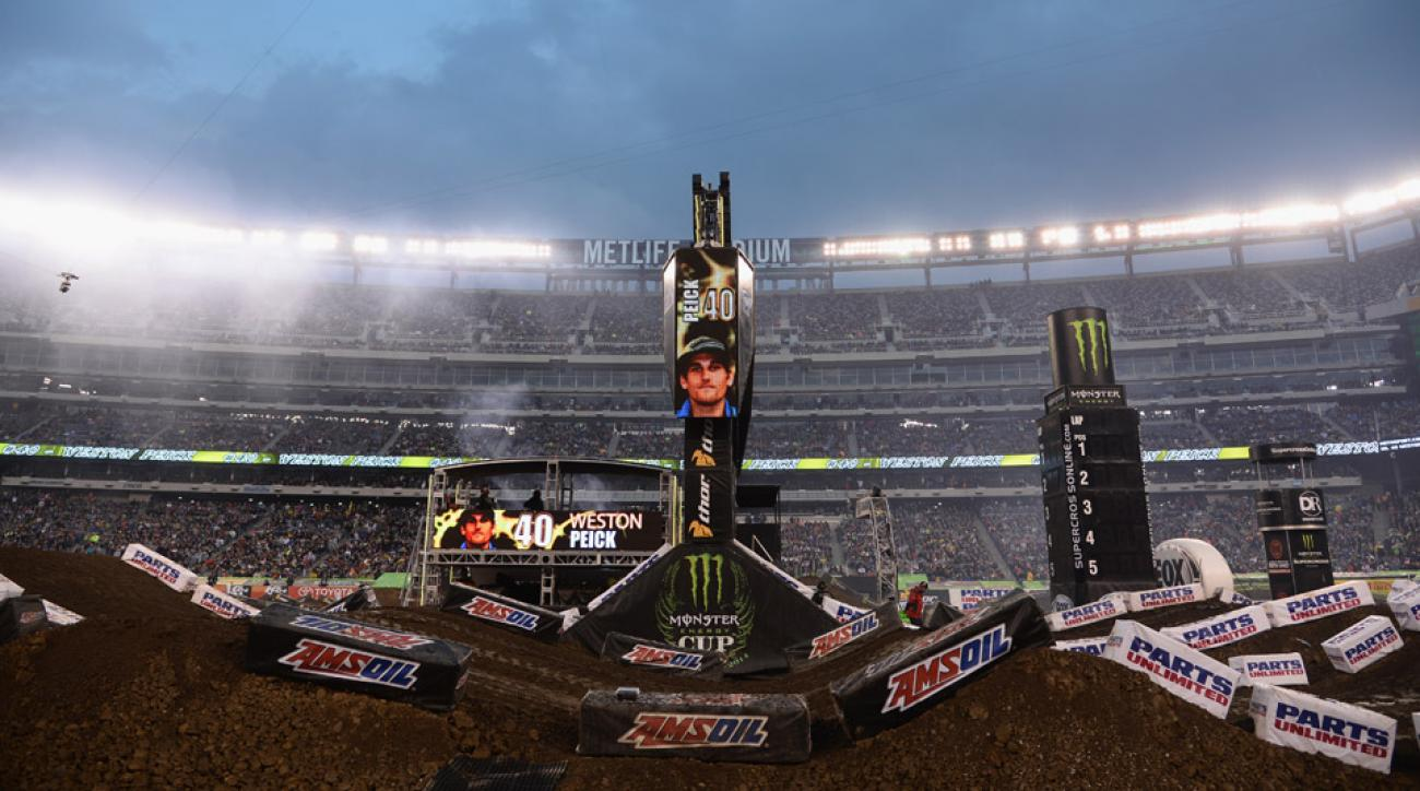 The April 26th race at MetLife Stadium in East Rutherford, N.J., marked the first such event in the New York City metro area since 1991, with Monster Energy and Supercross looking to make the trip a regular event.